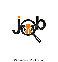 Job Logo Symbol Vector Design Illustration