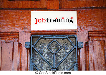 Job training center.