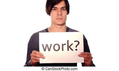 jobless boy