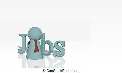 Jobs 3d advertisement