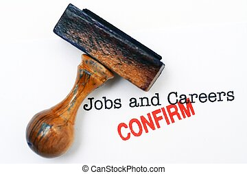 Jobs and careers - confirm