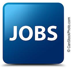 Jobs blue square button