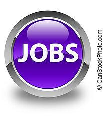 Jobs glossy purple round button