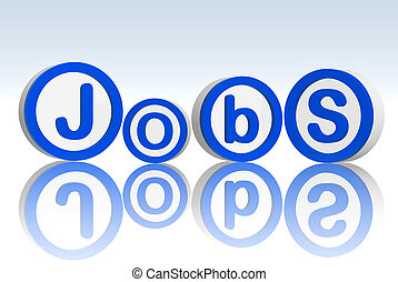 jobs in blue circles