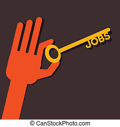 Jobs key in hand