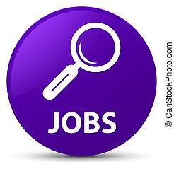 Jobs purple round button