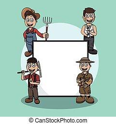 jobs sign illustration design