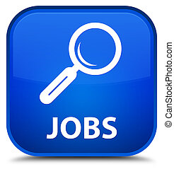 Jobs special blue square button