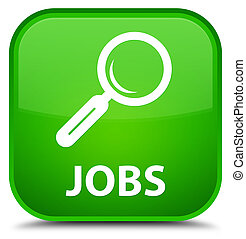 Jobs special green square button