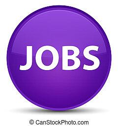 Jobs special purple round button