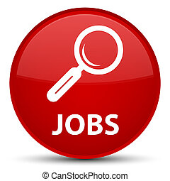 Jobs special red round button