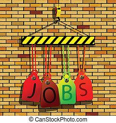 jobs under construction