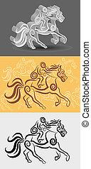 Jockey Decorations