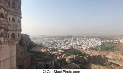 Jodhpur, India - View of the city from the walls of the old fortress part 2