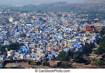 jodhpur, -, sekunde, größten, stadt, in, rajasthan, indien