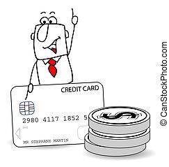 Joe and credit card