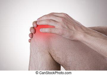 joelho, dor