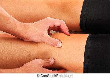 joelho, terapia