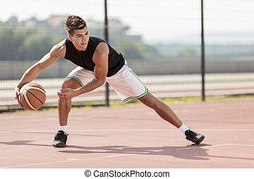 jogador, basquetebol
