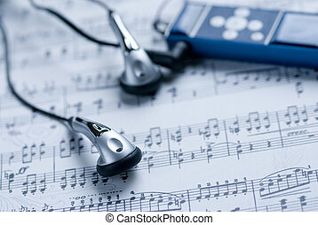 jogador, folha, mp3, música