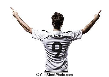 jogador, futebol, alemanha