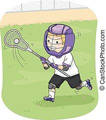jogador lacrosse