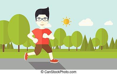 jogger.