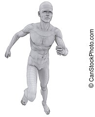 jogger wireframe