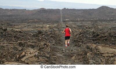 jogging, courant, coureur, île, fonctionnement, mâle, partie...