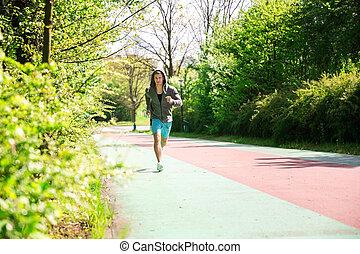 jogging, salud