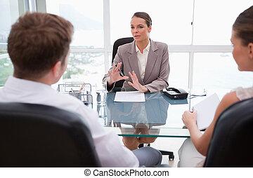 jogi, magyarázó, ügyvéd, helyzet