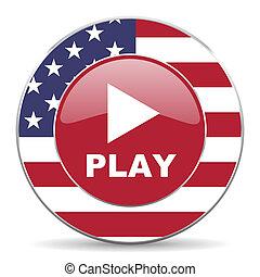 jogo, ícone americano