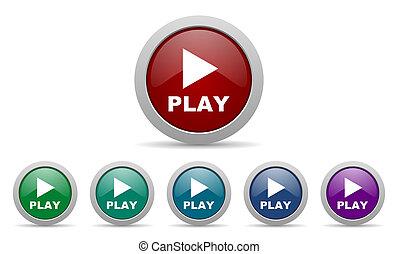 jogo, ícone