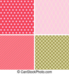jogo, abstratos, pattern., seamless, retro, geomã©´ricas, texture., 4