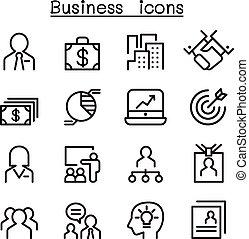 jogo, administração, negócio, ícone