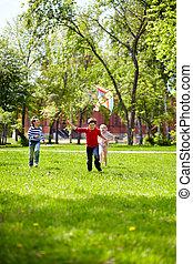 jogo, ao ar livre