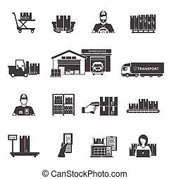 jogo, armazenamento, ícones