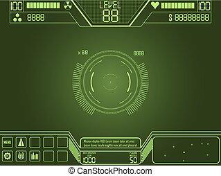 jogo, atirador, ui, espaço