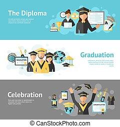 jogo, bandeira, graduação