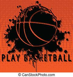 jogo, basquetebol