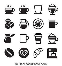 jogo café, ícone