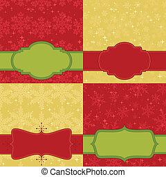 jogo, cartão natal