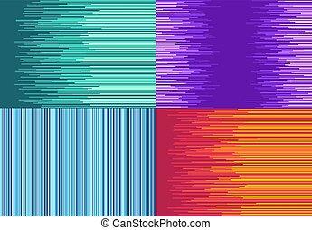 jogo, coloridos, direito, linhas, quatro, fundo