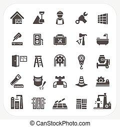 jogo construção, ícones