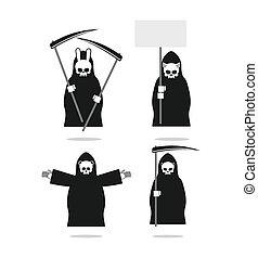 jogo, de, animal, deaths:, coelho, e, cat., urso, e, pig.,...