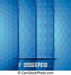 jogo, de, azul, abstratos, fundos