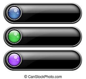 jogo, de, botões