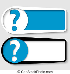 jogo, de, dois, caixas, para, qualquer, texto, com, marca...