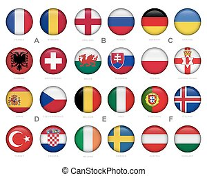 jogo, de, futebol, (, futebol, ), emblema