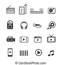 jogo, entretenimento, ícones